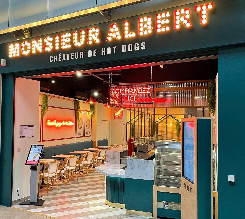 Monsieur Albert - Créateur de Hot-dogs à la Française - Nos établissements - Nantes centre commercial Beaulieu
